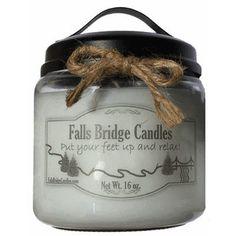 "FallsBridgeCandles Mulberry Jar Candle Size: 5.25"" H x 4"" W x 4"" D"