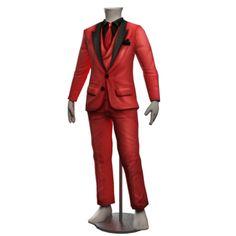 Burnt Ochre Velvet Suit