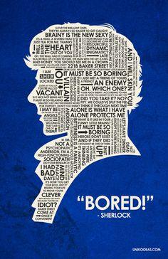 Sherlock Quote Poster - sherlock-on-bbc-one Photo