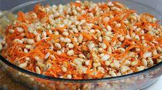 Salada de Soja com Gengibre e Cenoura