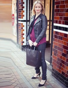 Stacey Duguid - Elle UK Looking fab while being pregnant