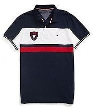 c1d7d1ea29d Tommy Hilfiger Men s Custom Fit Pieced Polo - ShopStyle. Camisetas Tipo ...