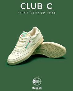 8075490e3b0506 Reebok Classics Club C OG 90s Sneakers