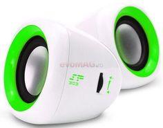 Boxe SP303 (Verde) la Pret Super - Componente Pc > Boxe Enzatec