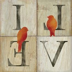 Live/Love Bird I (Cynthia Coulter)