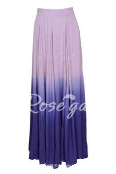 Stylish Ombre Skirt For Women