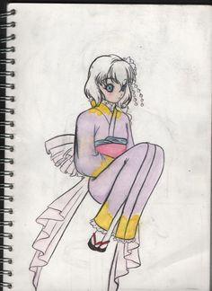 again but with Kimono!