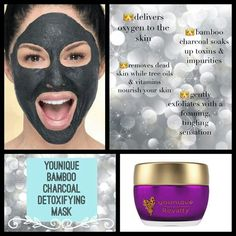 Royalty Detoxifying Mask Oxygenate your skin for a brighter, more youthful-looking appearance. Rejuvenate and reveal the natural beauty of your skin! This bamboo charcoal mask absorbs toxins and impurities while reintroducing oxygen to your skin with a foaming, tingling sensation. The gentle exfoliating properties remove dead skin cells, and tree oils and vitamins help nourish and condition skin.