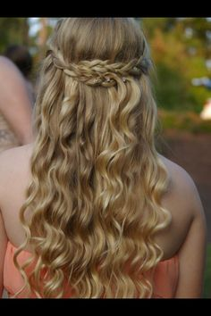 Homecoming hair!
