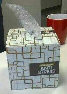 Anti-Stress I totally do this. I love bubble rap