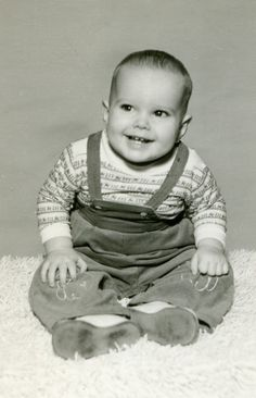 NOT John Wayne (the Actor's) Baby Picture...but perhaps he's another John Wayne...? :D Wonder what this one got up to?