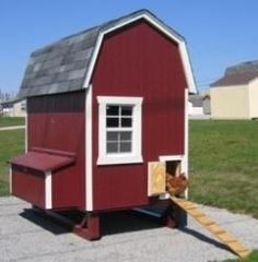 Gamble Barn Chicken Coop by Little Cottage Company