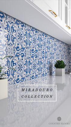 Blue Tile Backsplash Kitchen, Moroccan Tile Backsplash, Blue Moroccan Tile, Moroccan Kitchen Tiles, Wall Tiles For Kitchen, Kitchen Backplash, Kitchen Redo, Kitchen Remodel, Remodel Bathroom