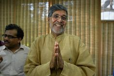 Indian activist Kailash Satyarthi wins the Nobel Peace Prize to end child slavery.