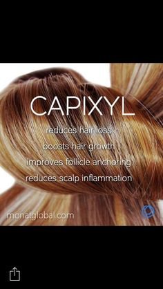 CAPIXYL™ is a key ingredient in #Monat products  I would love to give you FREE samples.  Contact me at mwinn67@gmail.com or go to mallorywinn.mymonat.com