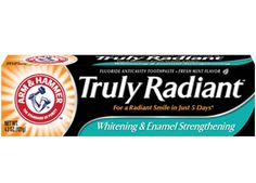 Get FREE Truly Radiant Arm & Hammer Toothpaste! From smiley360.