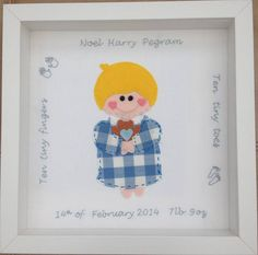 Personalised Baby Boy Embroidery