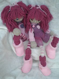 Ravelry: InekeVerbakel's Twins Britt and Bibi