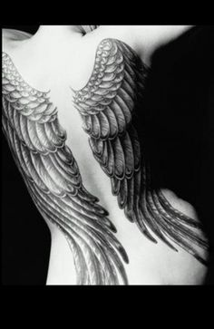 Angel wings #tattoo