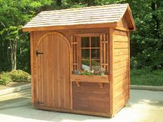 Pallet Garden Shed