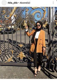 fashion hijab Hijab Chic - Mode Hiver 2019 - Hijab Fashion and Chic Sty. fashion hijab Hijab Chic – Mode Hiver 2019 – Hijab Fashion and Chic Style Hijab Chic, Modest Fashion Hijab, Modern Hijab Fashion, Street Hijab Fashion, Casual Hijab Outfit, Hijab Fashion Inspiration, Hijab Dress, Muslim Fashion, Mode Inspiration