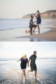Stunning marriage proposal at Crystal Beach in California! These photos are breathtaking, and their love story is just as amazing.