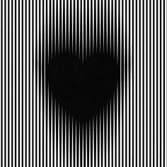 ilusioon optica corazon lo para de crecer