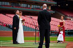 Busch Stadium Wedding St. Louis MO