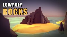 Blender Tutorial - The Low Poly Rocks