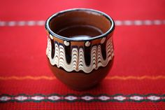 Traditional Bulgarian Pottery - small cup