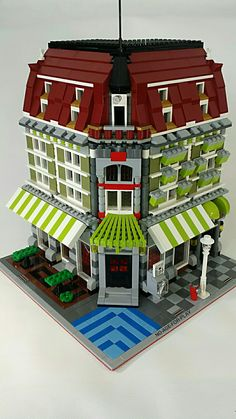 MOC Noageforplay LEGO Green grocery