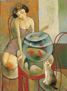 Figuration Feminine: Murman Kutchava (1962).......Bewildered....