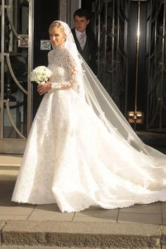 Nicky Hilton's wedding dress