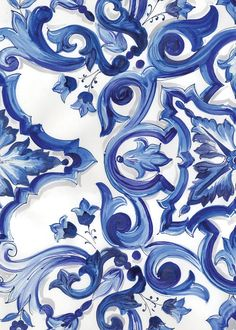 Exquisite Pattern of Dolce And Gabbana Winter 2016 Woman Collection Look Wallpaper, Pattern Wallpaper, Textures Patterns, Print Patterns, Pattern Art, Pattern Design, Motif Floral, Delft, Islamic Art