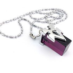 Fashion Onecos Sword Art Online SAO Metastasis Crystal Necklace (Purple) >>> Visit the image link more details.
