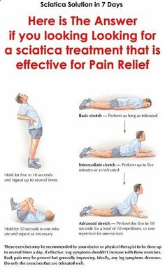 Pain Remedies Here is the answer if you looking for a sciatica treatment that is effective for pain relief Sciatic Nerve Relief, Sciatica Pain Treatment, Sciatica Exercises, Sciatic Pain, Back Pain Exercises, Body Stretches, Fitness Inspiration, Back Pain Remedies, Diy Home