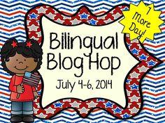 4th of July Bilingual Blog Hop 2014!!