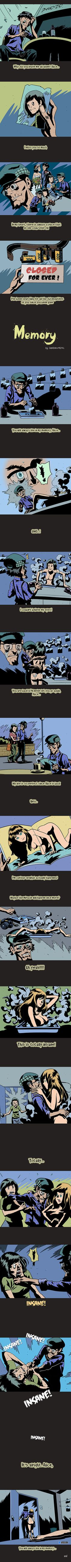 Eternal Memory (NSFW) | By DarkBox + MENG [Comic - Illustration - Short Stories - Photography - Love - Horror]