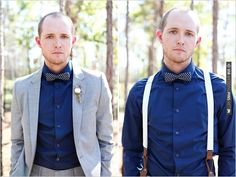 groom wedding style with  2 diff looks. we like. | CHECK OUT MORE IDEAS AT WEDDINGPINS.NET | #bridesmaids
