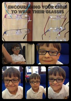 Encouraging your child to wear their glasses