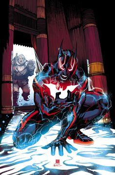 BATMAN BEYOND #10 Written by DAN JURGENS Art and cover by BERNARD CHANG Variant cover by MARTIN ANSIN