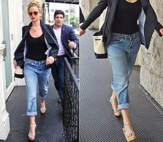 Well, like I said before… many brands now have ready to wear boyfriend jeans for women in their stores. Jennifer Lawrence, Put On, Boyfriend Jeans, Ready To Wear, Capri Pants, Guys, How To Wear, Women, Style