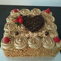 Cake Icing, Buttercream Cake, Eat Cake, Cake Decorating Tips, Cookie Decorating, Cake Cookies, Cupcake Cakes, Classic Cake, Just Cakes