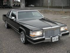 1990 Cadillac Brougham D'Elegance Coupe by That Hartford Guy, via Flickr