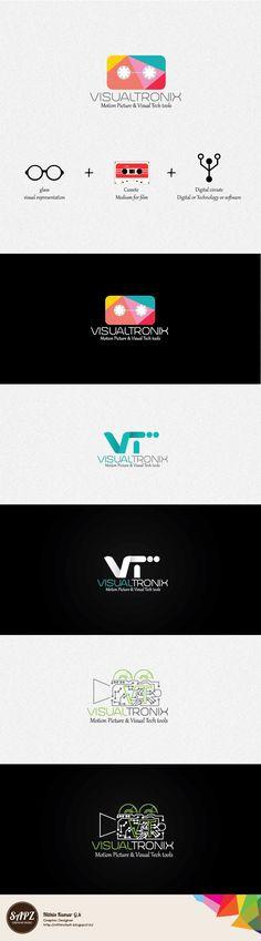 Logo Design for Visualtronix studios