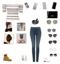 """""""Untitled #273"""" by selise-miles on Polyvore featuring Karen Walker, Timberland, The Row, Gap, Torn by Ronny Kobo, NYDJ, Ivanka Trump, Kate Spade, Ray-Ban and Yves Saint Laurent"""