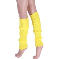 15f2057940b Vertvie Femme Hiver Guêtres Chaussettes Chaud Collant Jambière Tricoté  Crochet Leggings Neige pour Fête Noël