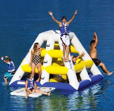 Floating Jungle Gym | 22 Ridiculously Awesome Floats