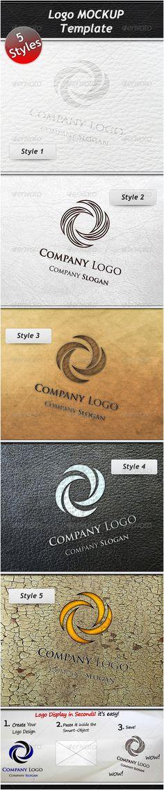 Logo Mockup Template PSD. Download here: http://graphicriver.net/item/logo-mockup-template/1375146?s_rank=602&ref=yinkira