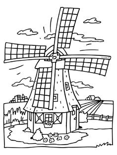 1000 images about thema de molen on knutselen
